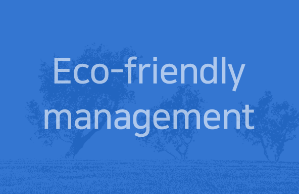 Eco-friendly management